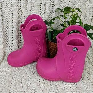 Crocs Kids' Rain Boots Toddler 7